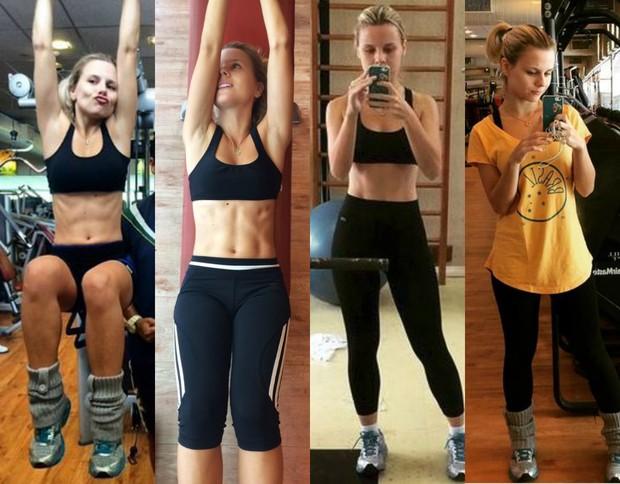 Daniela Carvalho, ex-'Malhação', faz dieta e passa do manequim 40 para 34 (Foto: Reprodução do Instagram)