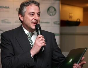 Paulo Nobre, presidente do Palmeiras (Foto: Fabio Menotti / Divulgação)