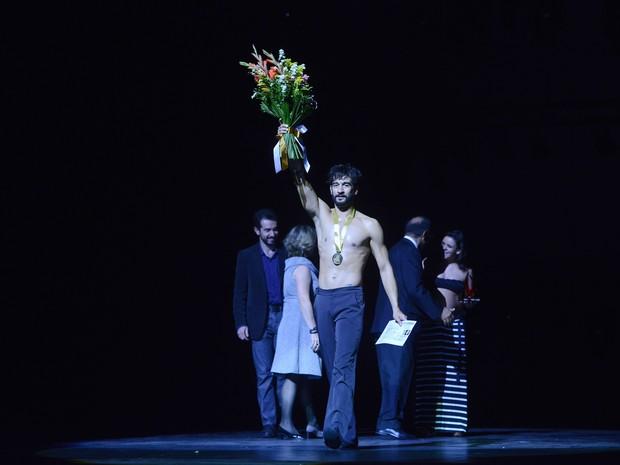 Ricardo Pereira foi considerado o melhor bailarino do 33º Festival de Dança de Joinville (Foto: Festival de Dança de Joinville/Divulgação)