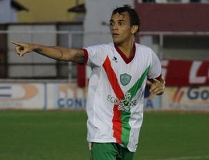 Felipe Moreira, atacante do Alecrim (Foto: Gabriel Peres/Divulgação)