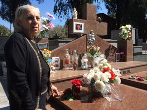 Avó de Bernardo, Jussara Uglione (Foto: Fernanda Canofre/G1)