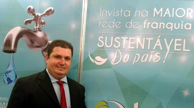 O empreendedor Anderson Silva espera seu faturamento de 2015 seja três vezes maior do que o de 2014 (Foto: Isabela Moreira)