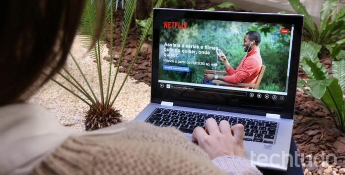 Usuários poderiam interagir com a narrativa das produções da Netflix, fazendo escolhas que impactam no desfecho das histórias (Foto: Raíssa Delphim/TechTudo)