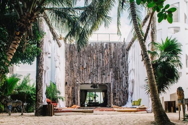 Mansão de Pablo Escobar que transformou-se em resort de luxo (Foto: Divulgação)