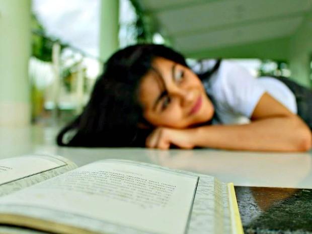 Rita de Cássia diz que sempre sonhou fazer letras (Foto: Ewerton Costa/ Arquivo pessoal )