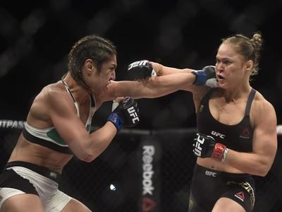 Ronda Rousey Bethe Correia UFC Rio 7 UFC 190 (Foto: André Durão)