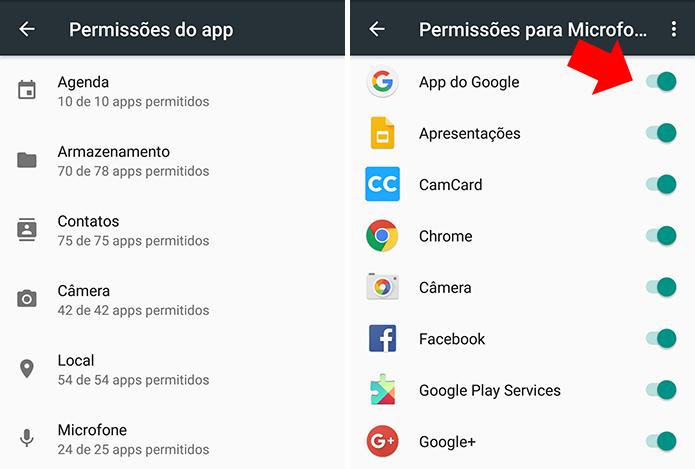 Revise quais apps controlem o quê no seu celular (Foto: Reprodução/Paulo Alves)