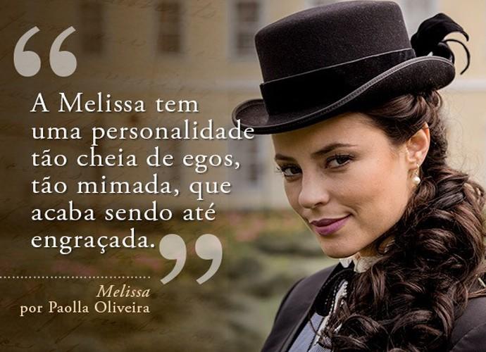 Melissa (Paolla Oliveira) (Foto: Gshow)