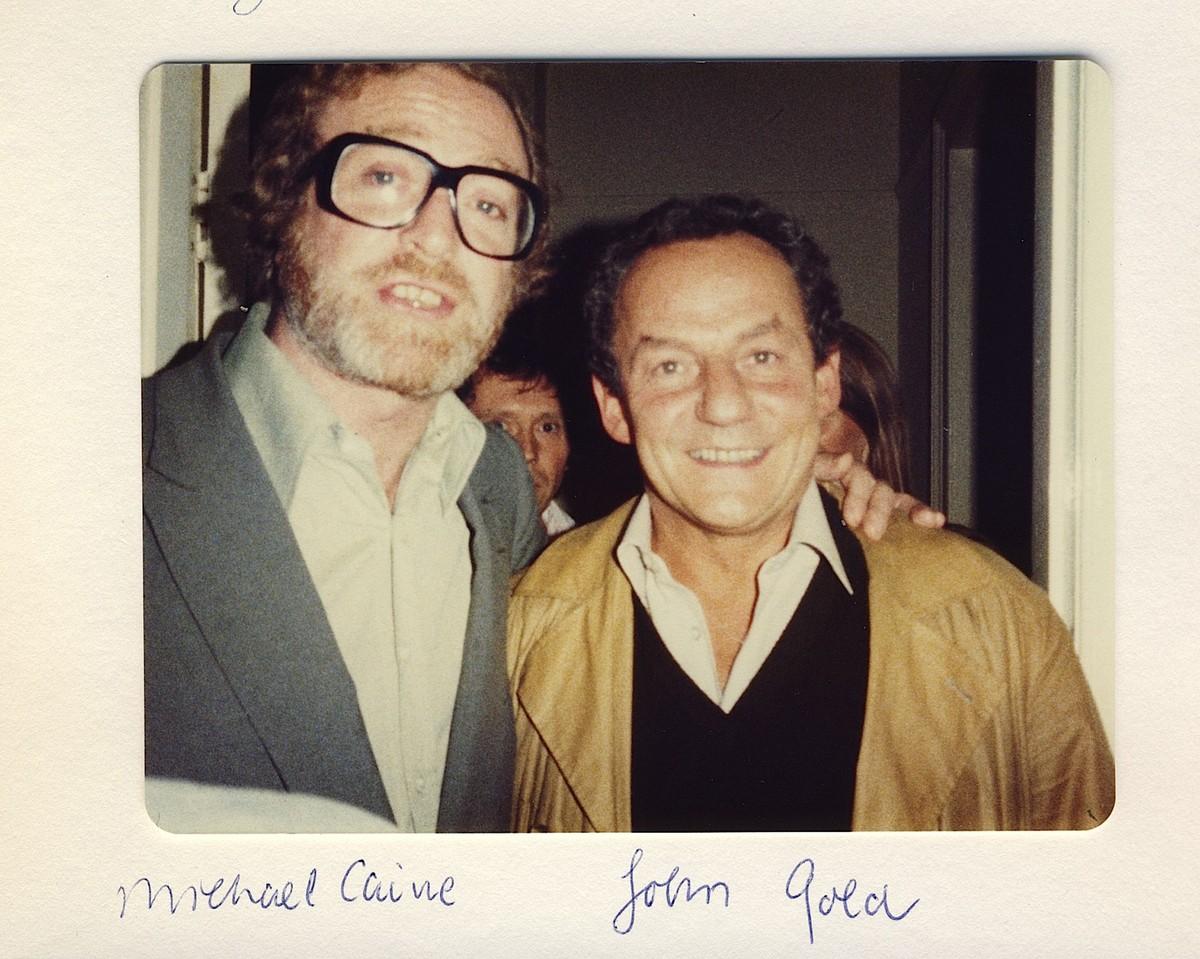 Michael Caine e Johnny Gold. (Foto: Divulgação)