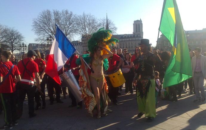 Tour da Taça em Paris (Foto: Felipe Schmidt)