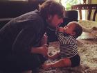 Aline Wirley mostra foto fofa do marido Igor Rickli com o filho