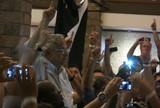 Com taça e charutos, Vasco comemora título em churrascaria