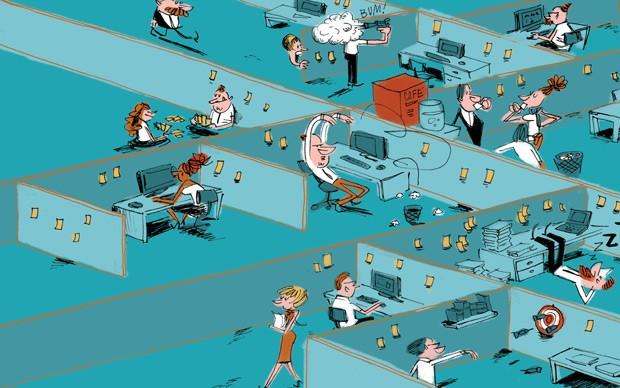 O trabalho perdeu o sentido? (Foto: Ilustração Caco Galhardo)