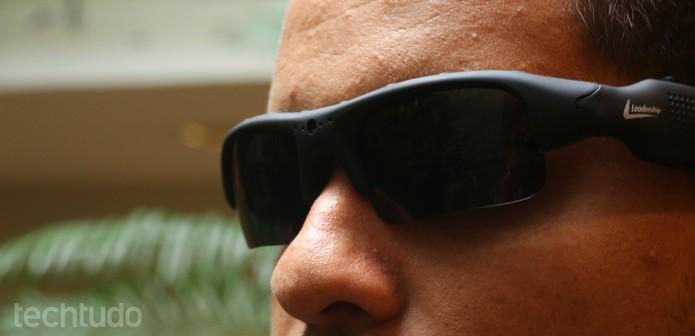 Óculos de Sol Leadership (Foto: Luciana Maline/TechTudo)