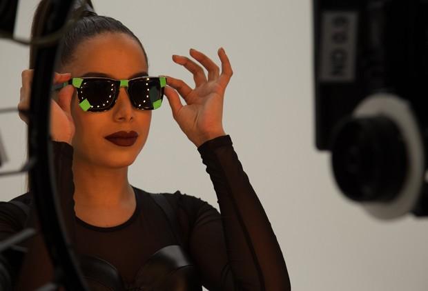 Anitta grava clipe de 'Bang', que será lançado na internet na sexta-feira (9) (Foto: Divulgação)
