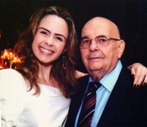 Ana Paula e pai Geraldo (Foto: Arquivo Pessoal)