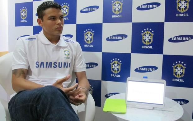 Thiago Silva PSG (Foto: Leandro Canônico)