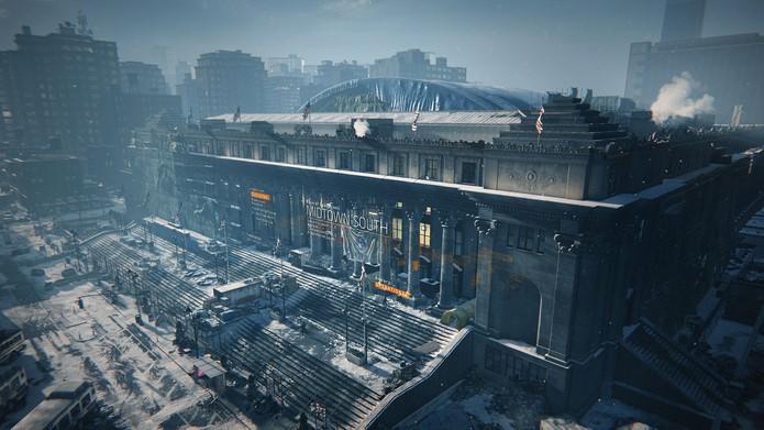 Os benefícios podem ser resgatados na base da Division (Foto: Divulgação/Ubisoft)