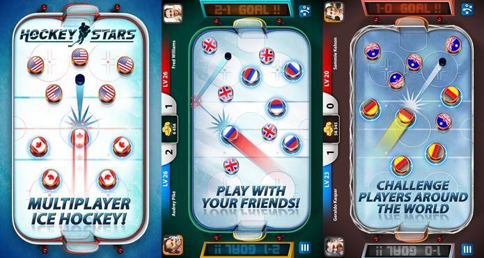 Hockey Stars é um jogo simples, mas com ótimos recursos online  (Foto: Divulgação / Miniclip)