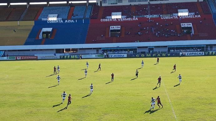 Novo x Águia Negra estádio Morenão (Foto: Mariana Cintra/TV Morena)