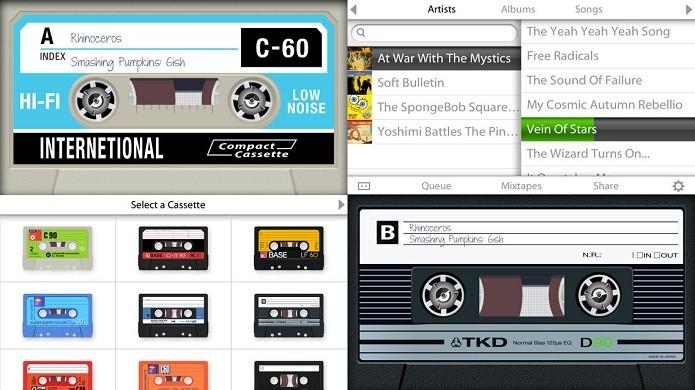Transforme seu gadget em um nostálgico tocador de fitas cassete (Foto: Divulgação/AppStore)