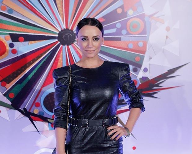 Suzana Pires toda elegante de preto (Foto: Fábio Rocha/Gshow)