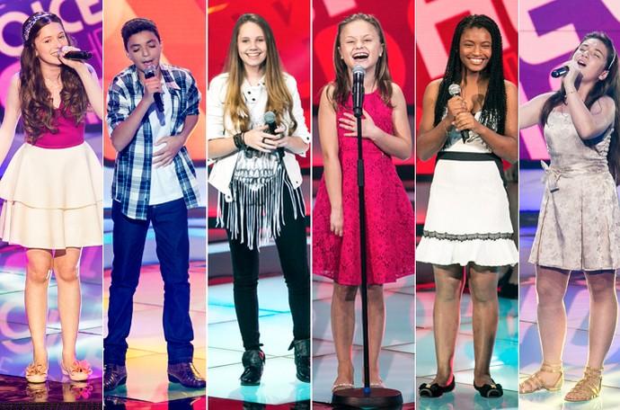 Paranaenses The Voice Kids (Foto: Divulgação Globo / Isabella Pinheiro Gshow)