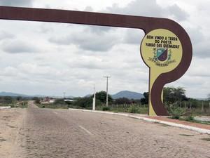 Município de Lagoa de Velhos, na região Agreste, fica a 90 quilômetros de Natal. (Foto: Fred Carvalho/G1)