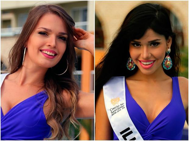 As misses Hanna Weiser e Domênica Nepomuceno são as representantes do Amazonas (Foto: Divulgação/Miss Mundo Brasil)