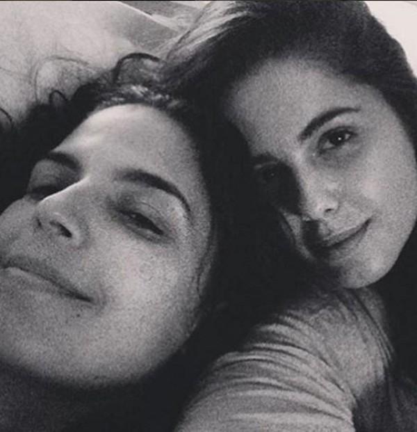 Emanuelle e a filha, Bruna (Foto: Reprodução/Instagram)