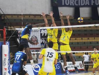 São José Vôlei Santo André Jogos Abertos do Interior 2014 (Foto: Aline Furlanetto/PMSJC)