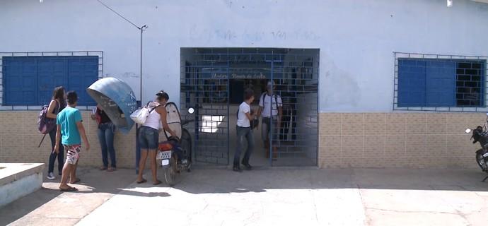 Ponto facultativo Teixeira, Inter de Teixeira x Sabugy (Foto: Reprodução / TV Paraíba)