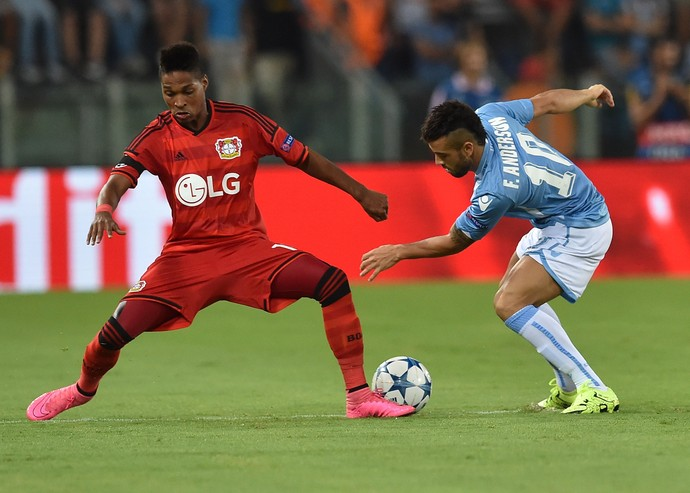 Wendell Bayer Leverkusen Felipe Anderson Lazio (Foto: Getty Images)