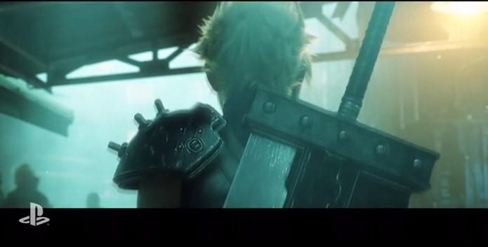 Cloud Strife surge em tease trailer de Final Fantasy 7 Remake (Foto: Divulgação)