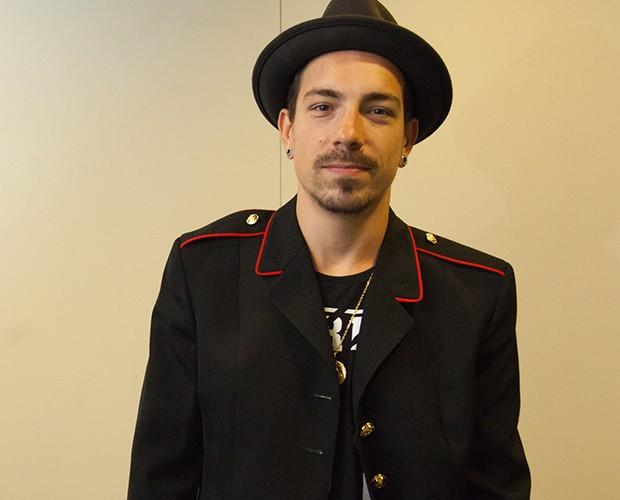 Di Ferrero, vocalista da banda NX Zero (Foto: Isabella Pinheiro / Gshow)