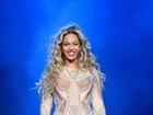 Beyoncé volta aos palcos com o marido e amigos na plateia