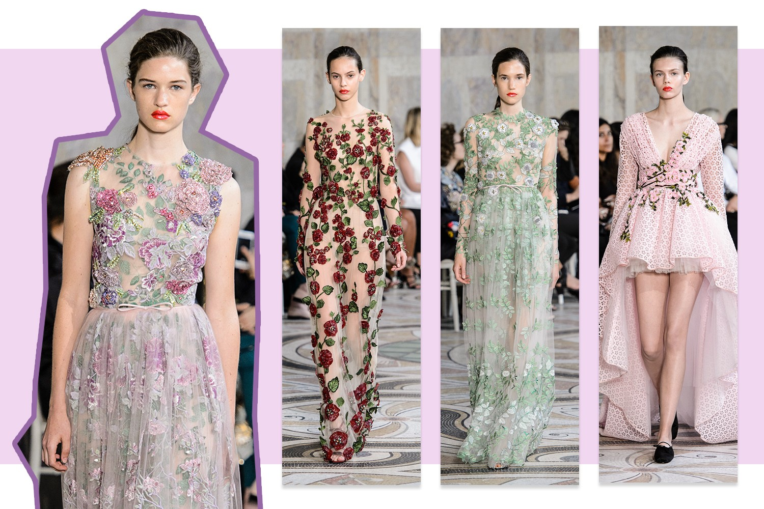 Flores 3D: Giambattista Valli (Foto: Antonio Barros, IMax Tree e Getty)