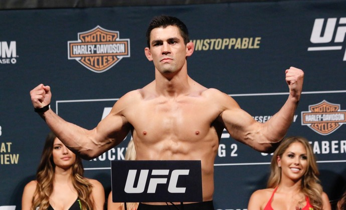 Pesagem Dominick Cruz UFC 199 (Foto: Evelyn Rodrigues)