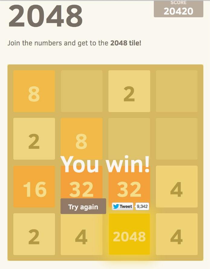 2048: Estratégias para vencer o game