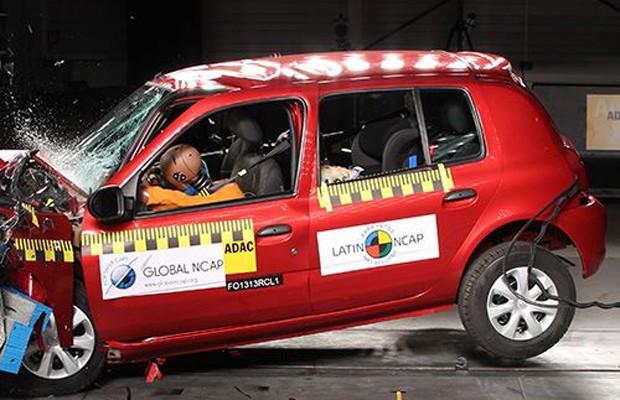 Renault Clio perde três estrelas em segurança do Latin NCAP (Foto: Divulgação)