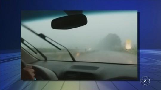 Chuva atinge região de Itapetininga e causa acidentes em rodovias