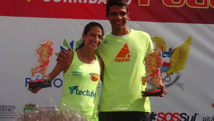 Luciana Holanda e Paulo Machado  (Foto: Reprodução/Facebook)