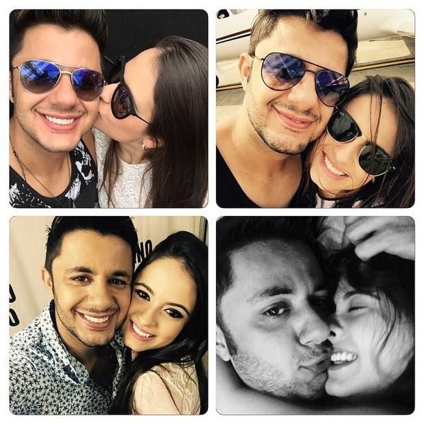 Cristiano Araújo e Alana (Foto: Reprodução/ Facebook)
