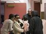 Kim Kardashian é fotografada pela 1ª vez após o nascimento do filho