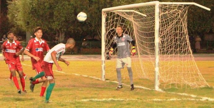 Baré dominou, mas quem saiu na frente foi o Atlético Roraima (Foto: Imagem/Tércio Neto)