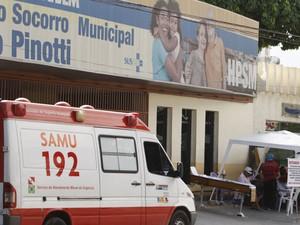 Atendimento no PSM da 14 de Março foi criticado pelo MPF. (Foto: Tarso Sarraf/O Liberal)