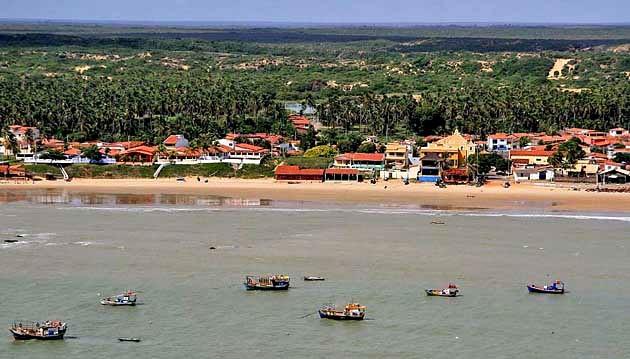 Praia de Touros, no litoral Norte potiguar (Foto: Canindé Soares)