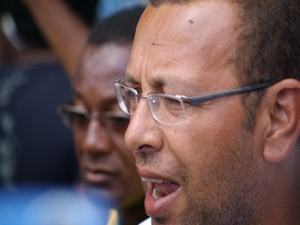Marco Prisco, líder do movimento (Foto: Egi Santana/G1)