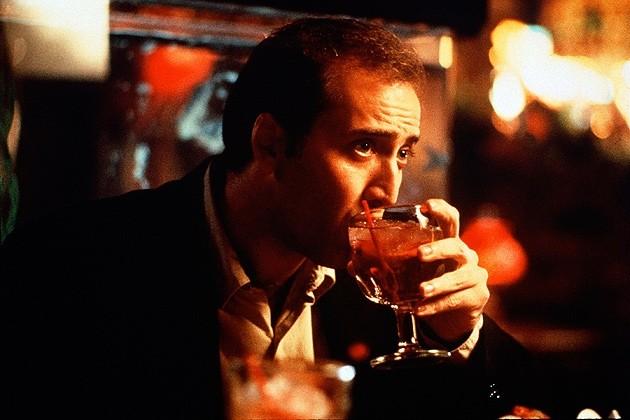 Nicolas Cage ganhou o Oscar em 1996 pelo papel do alcoólatra do filme Despedida em Las Vegas (Foto: Reprodução)
