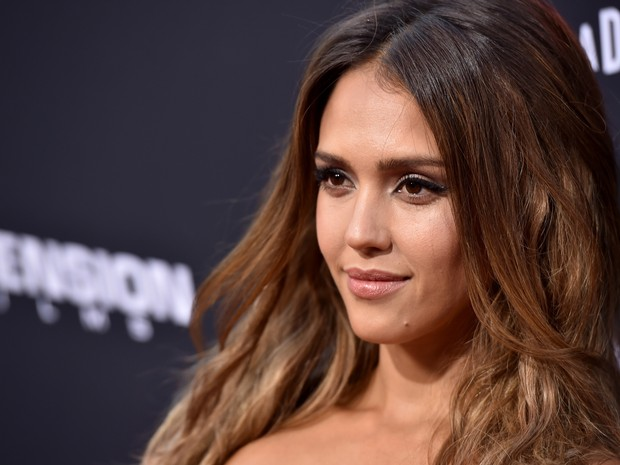 Jessica Alba em première de filme em Los Angeles, nos Estados Unidos (Foto: Kevin Winter/ Getty Images/ AFP)